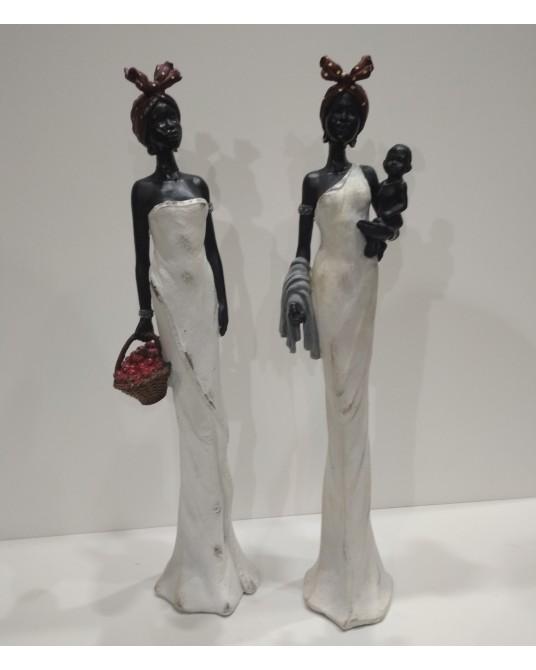 Pareja Figuras  Africanas