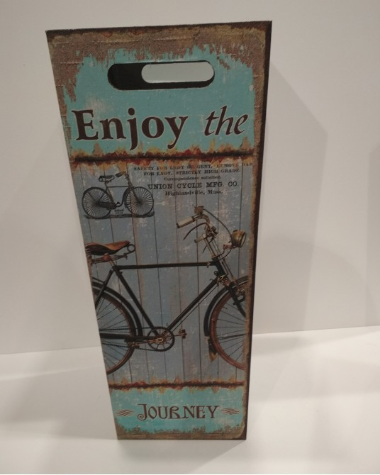 Paragüero bicicleta verde agua