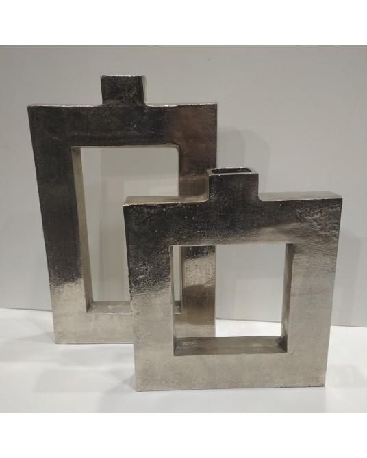 Jarrón metal diseño pequeño