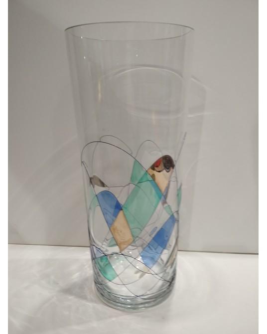Jarrón cristal Gaudí