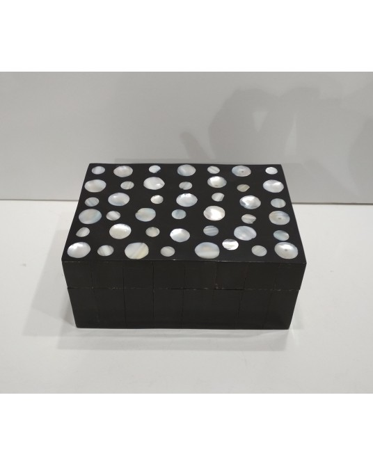 Caja madera nacar